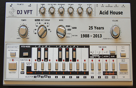 VFT Acid House mix 1988 - 2013